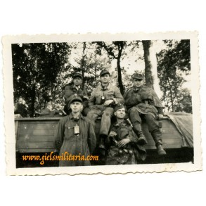 Private snapshot Luftwaffe field Division 1944