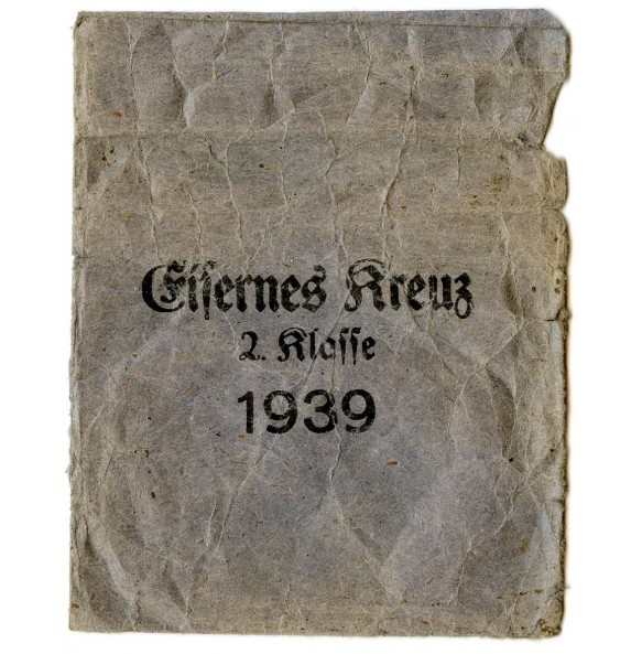 """Iron cross 2nd class award package """"Klein & Quenzer, Oberstein"""""""