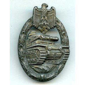 "Panzer assault badge in bronze by Hymmen & Co ""L/53"""