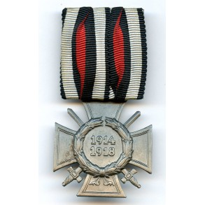 1914-1918 Honour cross with swords, parade mount
