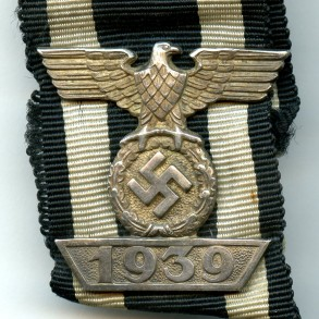 Iron cross clasp 2nd class by Ziemer & Co