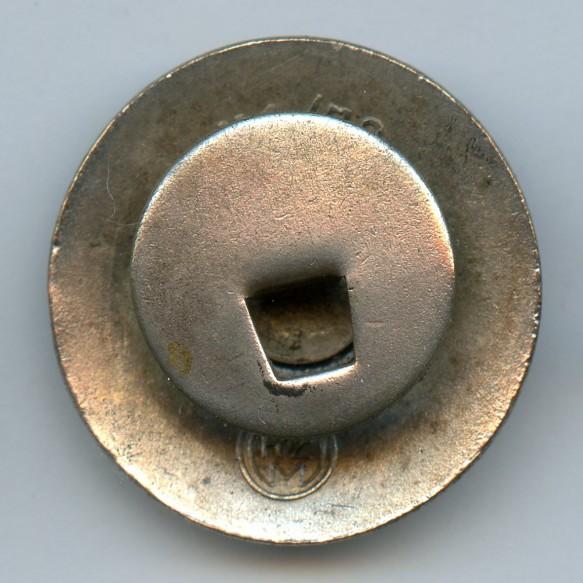 "Party pin by Fritz Zimmermann ""M1/72"", lapel pin"