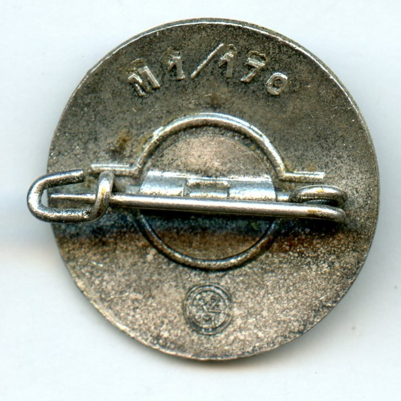 """Party pin by B. H. Mayers """"M1/170"""""""