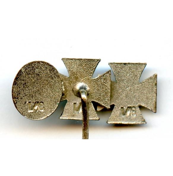 "3 place miniature by B.H. Mayer ""L/18"""