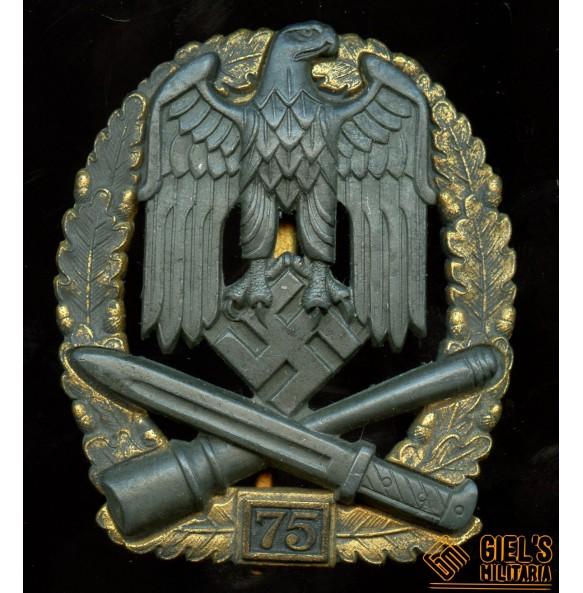 General assault badge, 75 assault by J. Feix