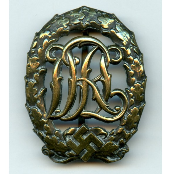DRL sport badge in bronze by Wernstein