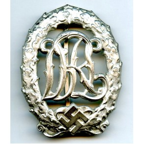 DRL sport badge in silver by Wernstein