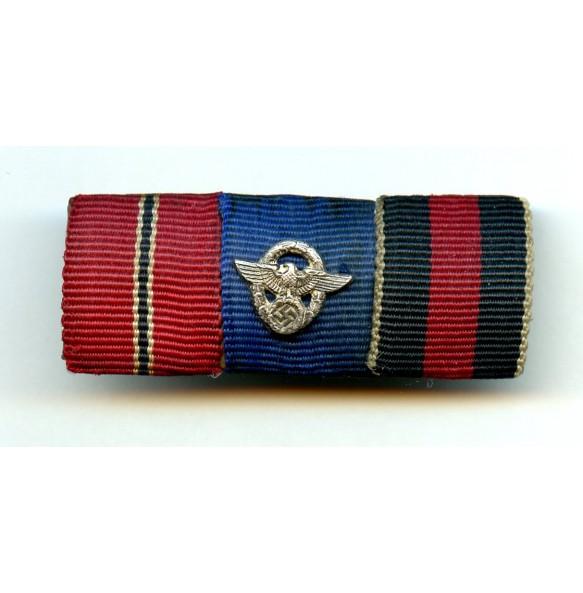 Ribbon bar police at eastern front