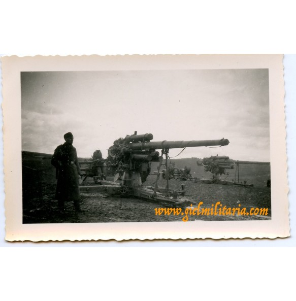 Private snapshot flak88 small batterie in the field
