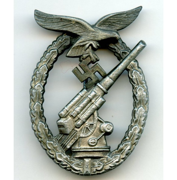 Luftwaffe flak badge by W. Deumer