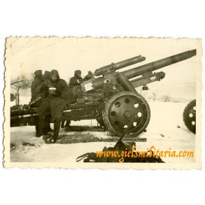 "Private snapshot heavy artillery gun ""Scharfschiessen"""