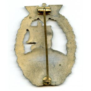 Kriegsmarine auxiliary cruiser badge by A. Rettemaier