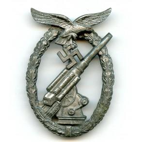 Luftwaffe flak badge by E. Ferd. Wiedmann