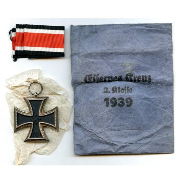 """Iron cross 2nd class by Deschler & Sohn """"round 3"""" + package"""