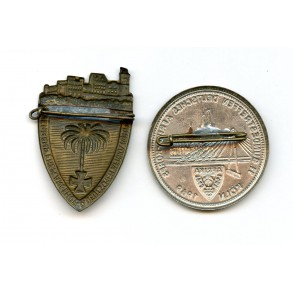 2 Afrikakorps Treffenabzeichen, post war veteran association badges