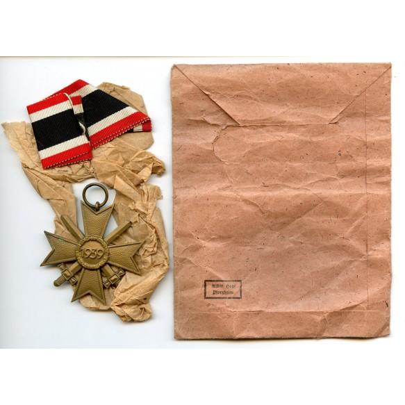 War merit cross 2nd class by Albin Hopf + package