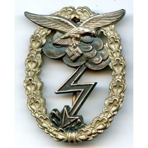 Luftwaffe ground assault badge by G.H. Osang