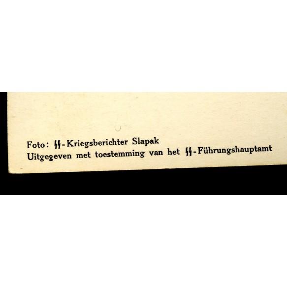 "Flemish SS recruitment postcard ""Stormpionierer"""