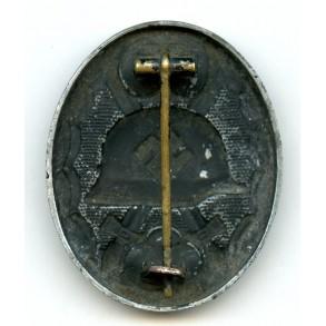 "Wound badge in black by Eugen Schmidthaussler ""E.S.P."" zink variant"
