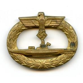 Uboot badge by W. Deumer, horizontal needle variant