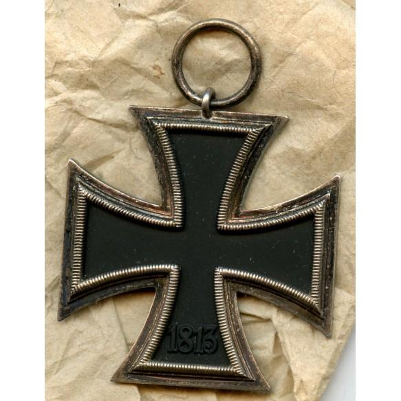 Iron cross 2nd class by Klein & Quenzer A.G + package