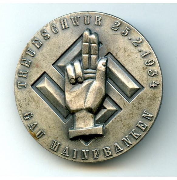 Tinnie Treueschwur Gau Mainfranken  25.2.1934