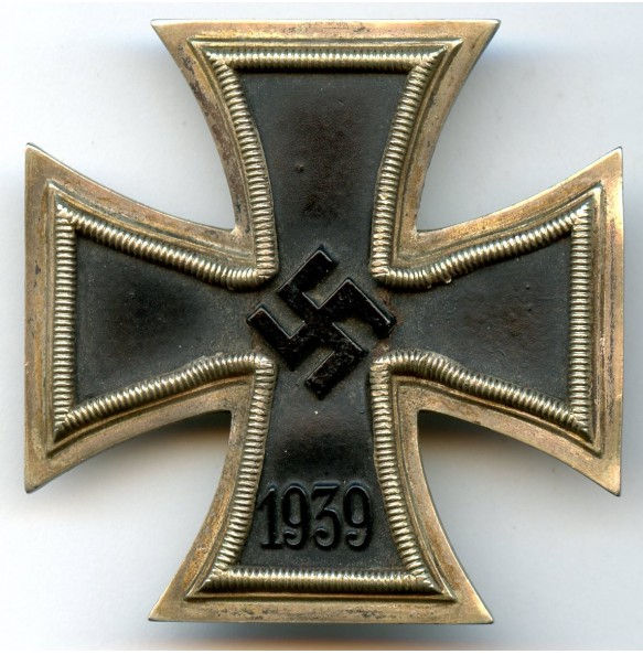 Iron cross 1st class by W. Deumer, damaged early war variant