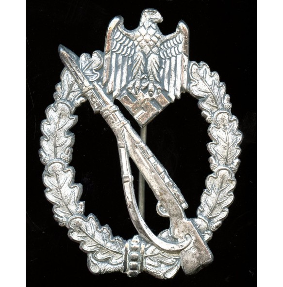 Infantry assault badge in silver by A. Rettemaier