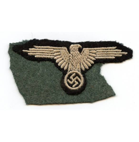 SS enlisted arm eagle, cut out example