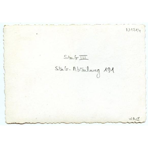 Private snapshot Stug III, Stug Abt 191