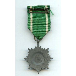 Eastern people bravery decoration with swords
