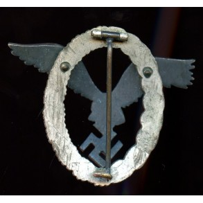 "Luftwaffe pilot badge by F.A. Assmann & Söhne ""A"""