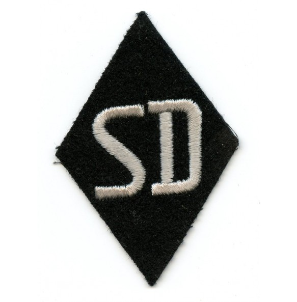 SS/SD diamond sleeve patch with RZM tag