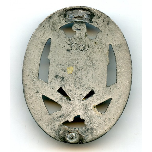 """General assault badge by F. Orth """"F.O."""""""