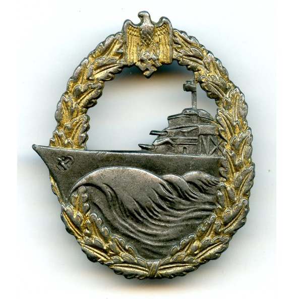 Kriegsmarine destroyer badge by SchuCo