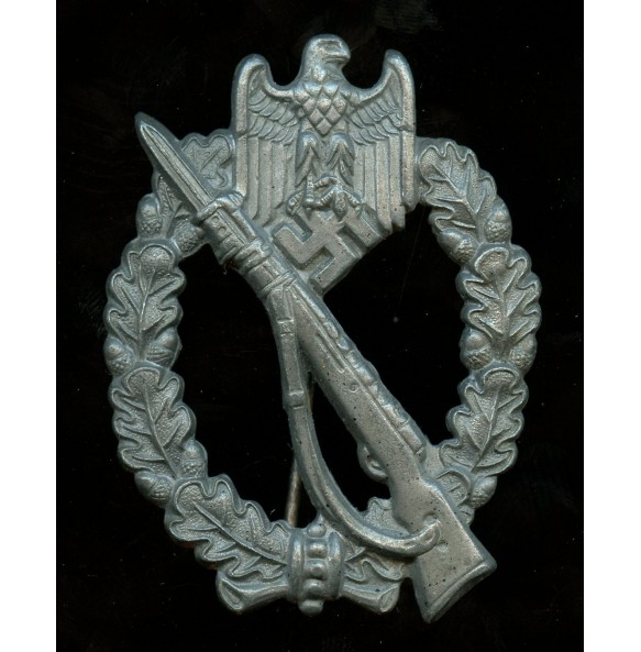 "Infantry assault badge in silver by R. Souval ""RS"", Juncker set up variant"