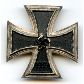 Iron cross 1st class by Assmann/FLL, screwback variant, non magnetic!