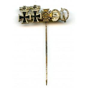 1957 double rion cross spange 9mm miniature bar