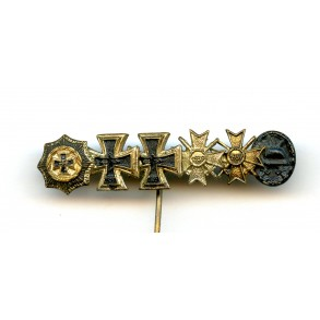 1957 German cross 9mm miniature bar