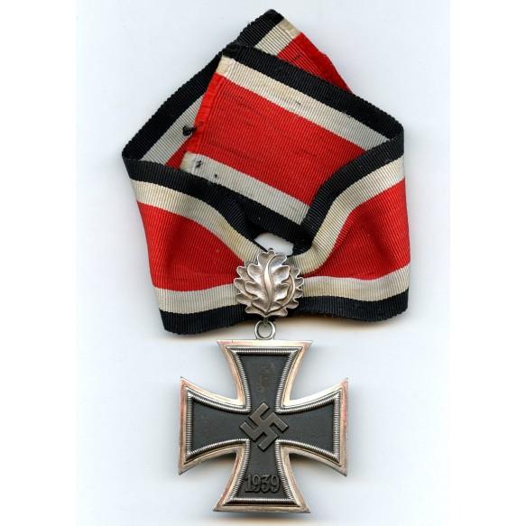 "Knights Cross of the iron cross by S&L ""800"" + oaks leafs by Gebr. Godet ""21"""