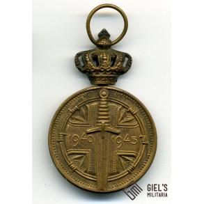 Belgian prisoner of war medal 1940-1945