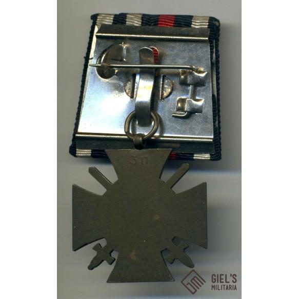 WW1 german honor cross 1914-1918. Single mounted