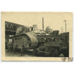 """Photo of the """"Champagne"""" Char 2C bis"""
