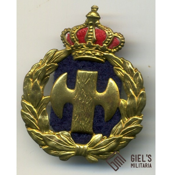"Greek fascist youth organization ""EON"" cap badge 1936-1941"
