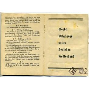 Deutsche Siedlerbund (DSB) grouping