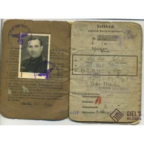 Soldbuch to P. Martin, IR321, Russia, Operation Taifun, Moskow