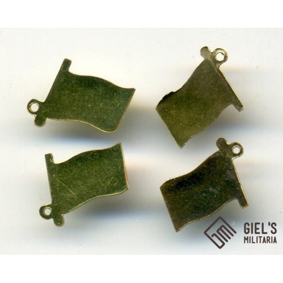 4 mini chain miniature flags