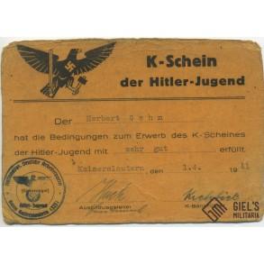 HJ K-Schein grouping