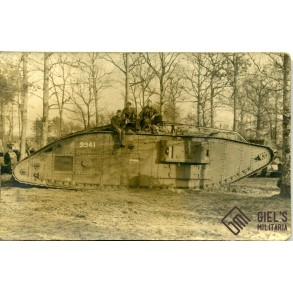 WW1 panzer photo