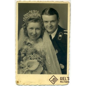 Portrait panzer NCO wedding